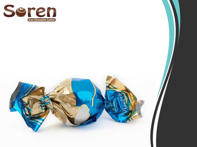 شکلات تافی مغزدار ارزان