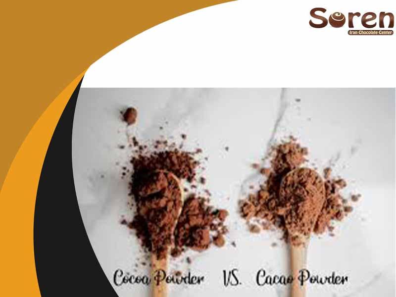 شرکتهای واردکننده مواد اولیه شکلات