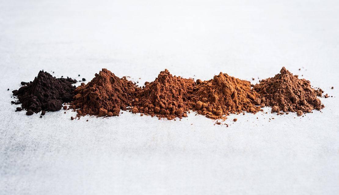آشنایی با انواع پودر کاکائو