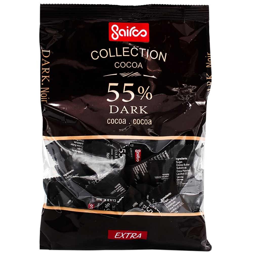 خرید عمده شکلات تلخ 55 درصد سایرو Sairoo chocolate