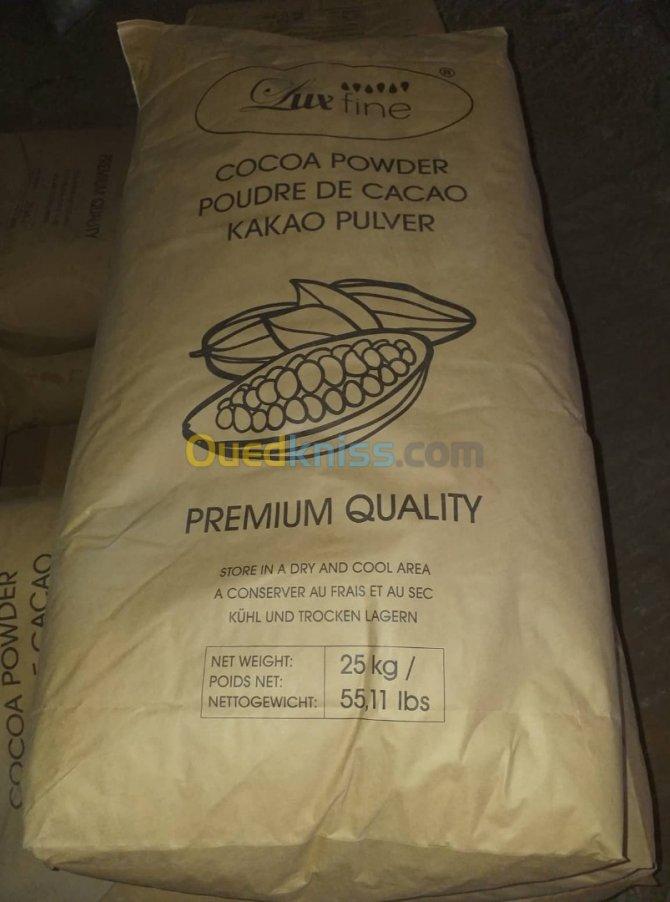 مشخصات پودر کاکائو لوکس فاین Lux fin cocoa powder