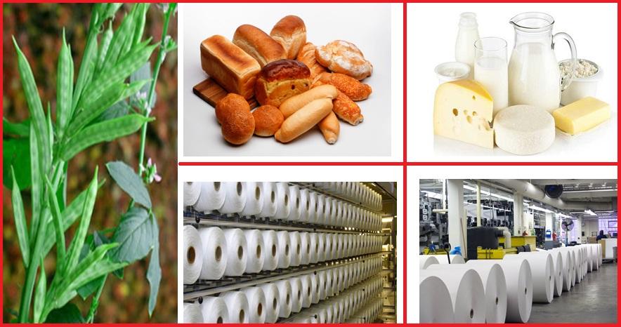 کاربرد گوارگام در صنایع