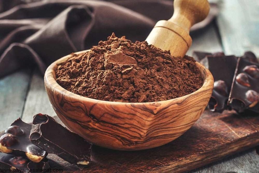 تاثیر پودر کاکائو بر سلامت افراد